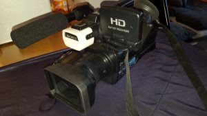 Sony-HD-Nightshot-Schulterkamera