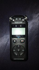 TASCAM-DR05-Audiorekorder